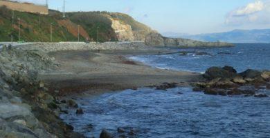 Playa Calamocarro en Ceuta