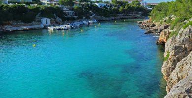 Playa Cala'n Blanes en Ciutadella de Menorca