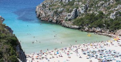 Playa Cala'n Porter en Alaior