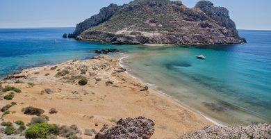 Playa Calarreona en Águilas
