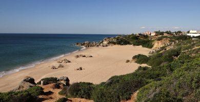 Playa Calas de Poniente en Conil de la Frontera