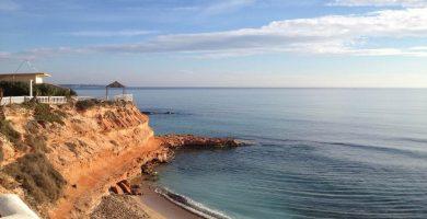 Playa Calas de Rocamar en Pilar de la Horadada