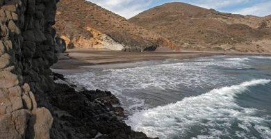 Playa Calas del Barronal en Níjar