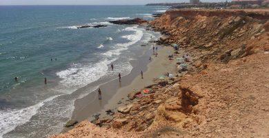 Playa Calas del Cabo Peñas en Orihuela