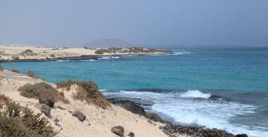 Playa Calas del Puertito en La Oliva