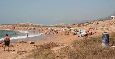Playa Calblanque en Cartagena