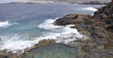 Playa Caleta de Abajo en Gáldar