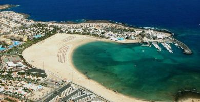 Playa Caleta de Fuste en Antigua