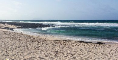 Playa Caleta del Puerto en Teguise