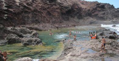 Playa Caletón de los Cangrejos en Gáldar