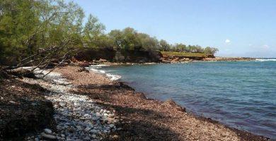 Playa Caló D'Es Cans en Artà