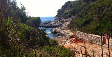 Playa Caló d'es Macs en Palma de Mallorca