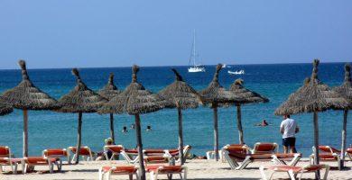 Playa Caló d'Es Palangres en Palma de Mallorca