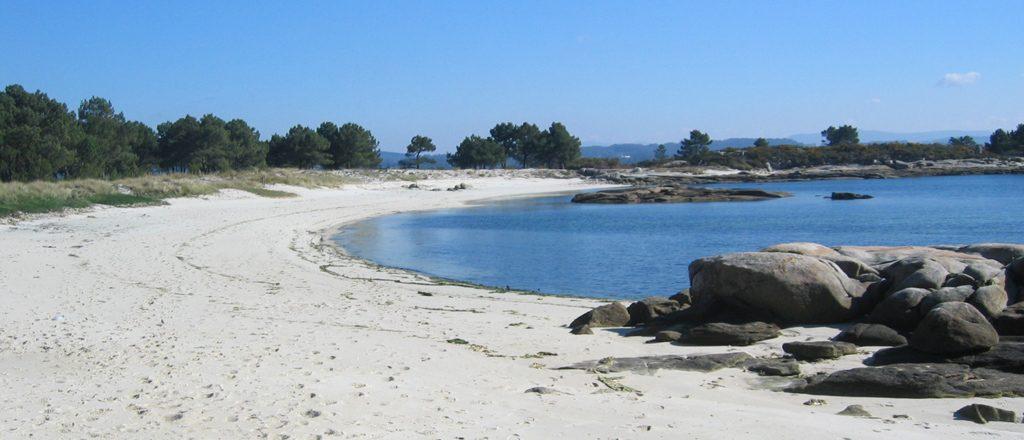Playa Camaxe en A Illa de Arousa