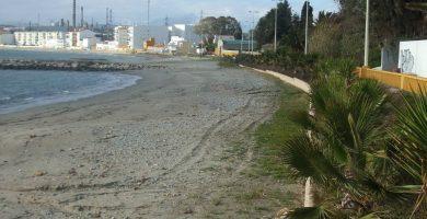 Playa Campamento en San Roque