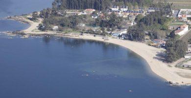Playa Campamento en Vilanova de Arousa
