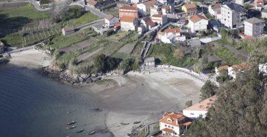Playa Campelo en Valdoviño