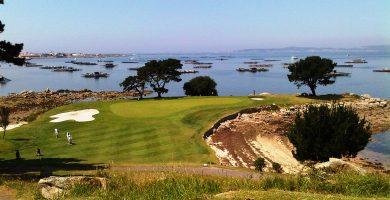 Playa Campo Golf Este en O Grove