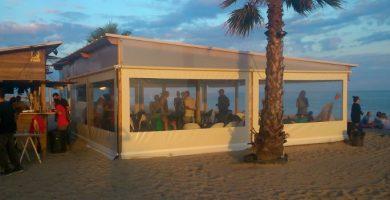 Playa Can Villar en Sant Pol de Mar