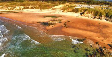 Playa Canallave en Piélagos