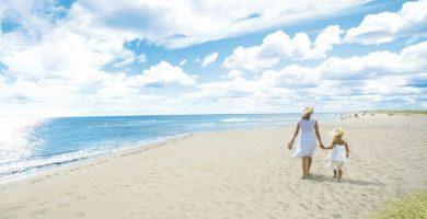 Playa Candás en Carreño