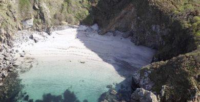 Playa Canide en Oleiros