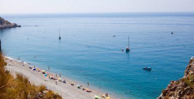 Playa Cantarriján en Almuñécar