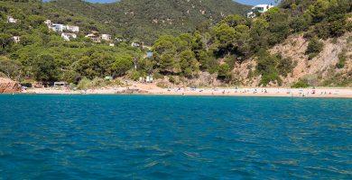 Playa Canyerets en Sant Feliu de Guíxols