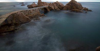 Playa Canyet en Santa Cristina d'Aro