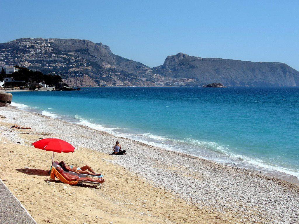 Playa Cap Negret en Altea