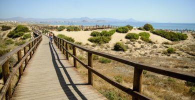 Playa Carabassí en Elche