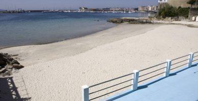 Playa Carabuxeira en Sanxenxo