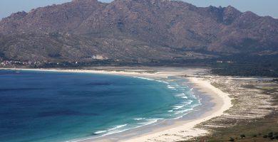 Playa Carnota en Carnota