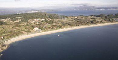 Playa Carragueiros en Boiro