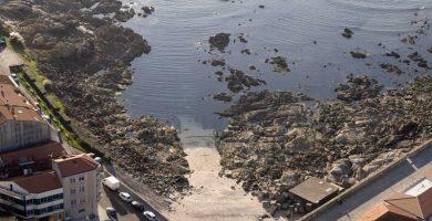 Playa Carreiro en O Grove