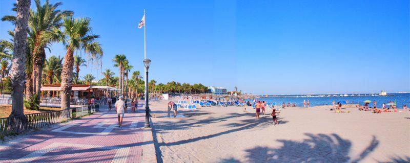Playa Carrión en Puerto del Rosario