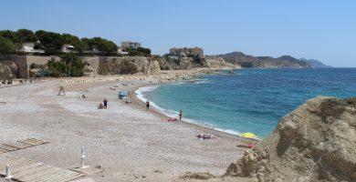 Playa Carritxal en Villajoyosa