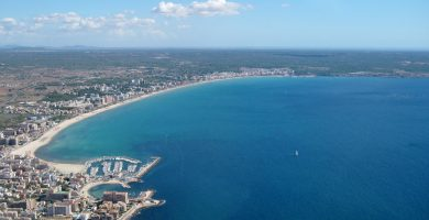 Playa Cas Pages en Palma de Mallorca