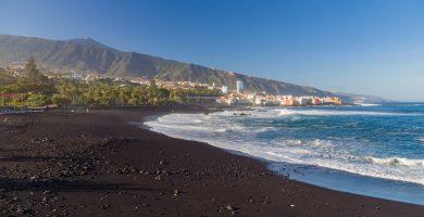 Playa Casas Blancas en Santa Cruz de Tenerife