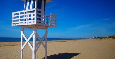 Playa Casita Azul en Isla Cristina