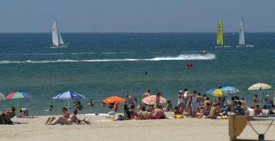 Playa Castelldefels en Castelldefels