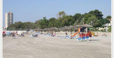 Playa Castillico en San Javier