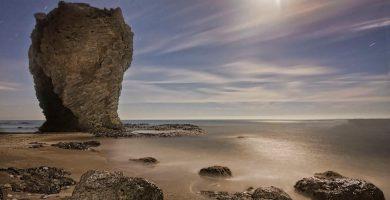Playa Castillo de Macenas en Mojácar