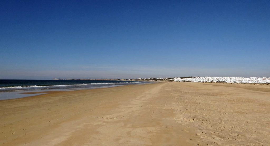 Playa Castilnovo en Conil de la Frontera