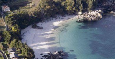 Playa Castiñeiras en Ribeira
