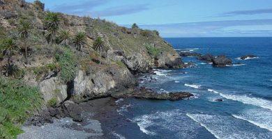 Playa Castro en Los Realejos