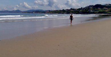 Playa Catro Cordas en Vilanova de Arousa
