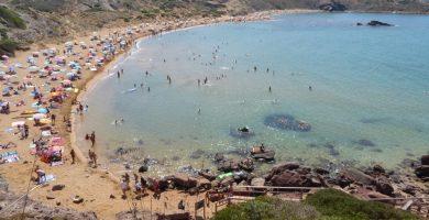 Playa Cavalleria en Es Mercadal