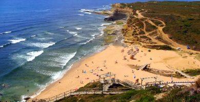Playa Celeiráns en Ribeira