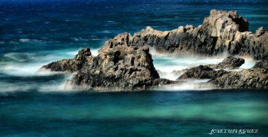 Playa Charco de los Sargos en Frontera